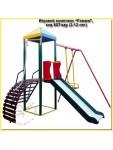 """Комплекс """"Гамми"""", спортивно-игровой для детских площадок, код 807/кду (2-12 лет)"""