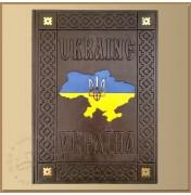 Украина (позолоченная) (БЕСПЛАТНАЯ ДОСТАВКА)