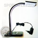 Светодиодная настольная лампа Delux TF-230 3 Вт LED Black