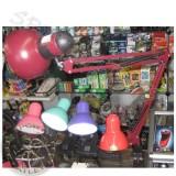 Светильник настольный MТ-800 СТРУБЦИНА, ножка 80 см, бордовый