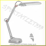 LED Светильник светодиодный настольный MAGNUM NL011 4100К 7Вт серебро (струбцина+подставка)