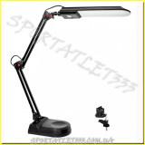 LED Светильник светодиодный настольный MAGNUM NL011 4100К 7Вт черный (струбцина+подставка)