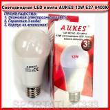 Светодиодная лампа LED лампа AUKES A60 12W E27 4100K 220V (стандартная)
