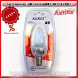 АКЦИЯ!!! Светодиодная лампа LED лампа AUKES  4W E14 4100K 220V (декоративная)