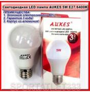 Светодиодная лампа LED лампа AUKES A60 5W E27 6400K 220V (стандартная)