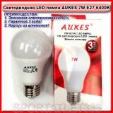 Светодиодная лампа LED лампа AUKES A60 7W E27 6400K 220V (стандартная)