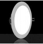 Светодиодная LED панель Круг ROILUX ROI-Ф225mm-18W-1300LM-DW 4000K встраиваемый