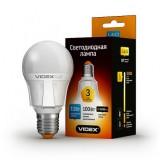 Светодиодная лампа LED лампа VIDEX PREMIUM A60 11W E27 3000K 220V