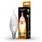 Светодиодная лампа LED лампа VIDEX C37t 5W E14 4100K 220V