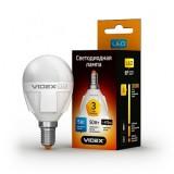 Светодиодная лампа LED лампа VIDEX G45 5W E14 3000K 220V