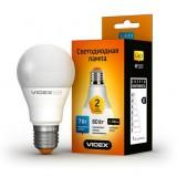 Светодиодная лампа LED лампа VIDEX A60e 7W E27 4100K 220V