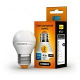Светодиодная лампа LED лампа VIDEX G45e 3.5W E27 3000K 220V