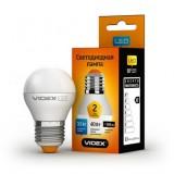 Светодиодная лампа LED лампа VIDEX G45e 3.5W E27 4100K 220V