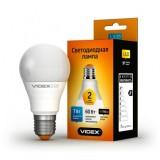 Светодиодная лампа LED лампа VIDEX A60e 7W E27 3000K 220V