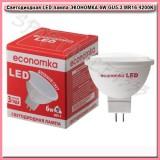 Светодиодная LED лампа ЭКОНОМКА 6W GU5.3 4200K MR16 220V