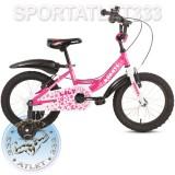 "Детский велосипед Avanti Lily 16""/18"", 3-6 лет (рост до 115/122 см)"