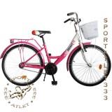 """Подростковый велосипед 24"""" SAVKOS модель 01-2, втулка EAGLE (Индия), (односкоростной)"""