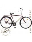 """Велосипед 28"""" УКРАИНА, модель 33-11 (заднее колесо с усиленной спицей)."""