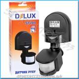 Датчик движения Delux ST10A (180°) Black