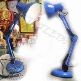 Светильник настольный MT-810 голубой, ножка 50 см